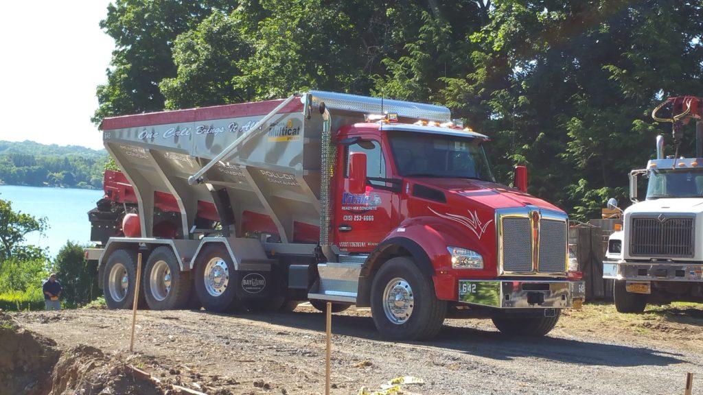 Stone Slinger Truck